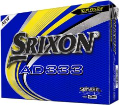 New AD333 Tour Yellow golf balls at Best4Balls