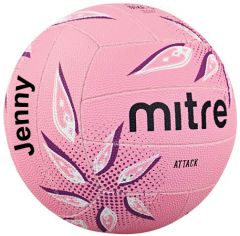 Personalised Attack Pink Netball Best4balls.com