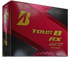 Printed Bridgestone Tour B RX Yellow golf balls | Best4SportsBalls