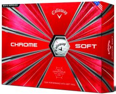 Callaway Chrome Soft Personalised golf balls |Best4SportsBalls