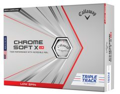 Callaway Chrome Soft X LS Triple Track golf balls | Best4Balls