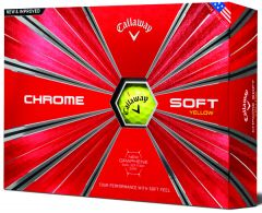New  Chrome Soft Yellow Golf Ball from Callaway  | Best4SportsBalls