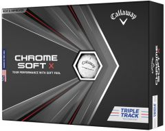 Callaway Chrome Softx Triple Track Golf Ball  | Best4Balls