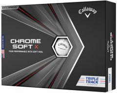 Printed Callaway Chrome Soft X Triple Track | Best4SportsBalls