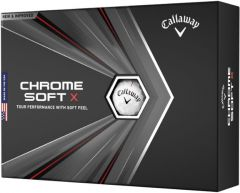 Chrome Soft X printed golf balls | Best4SportsBalls
