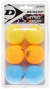 Dunlop Nitro Glow Table Tennis Balls Printed | Best4SportsBalls