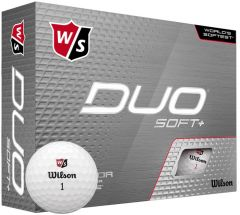 Wilson Printed Duo Soft+ custom golf balls | Best4SportsBalls
