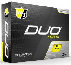 WIlson Duo Optix Yellow | Best4Balls