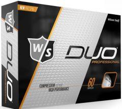 Printed WIlson Duo Professional golf balls | Best4SportsBalls