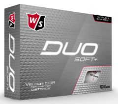 Wilson Duo Soft + golf balls | Best4Balls