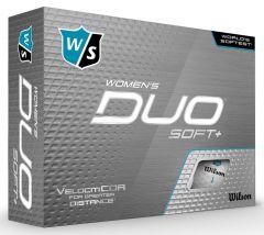Wilson Women's Duo Soft + printed golf balls | Best4SportsBalls