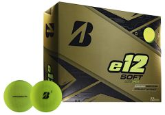 Printed Bridgestone e12 Soft Matte Green | Best4SportsBalls