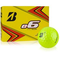 Bridgestone e6 Yellow printed golf balls | Best4SportsBalls