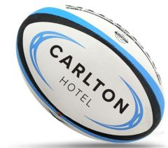 Gilbert Omega Logo rugby balls
