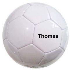 Personalised Non-Branded white Football | Best4SportsBalls