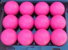 Printed Non-Branded Pink golf balls | Best4SportsBalls