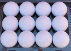 Printed Non-Branded white golf balls | Best4SportsBalls
