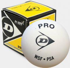 Dunlop Pro White Squash balls personalised