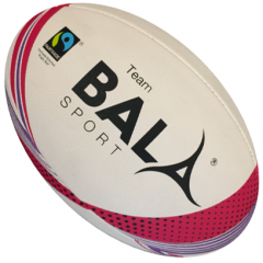 Promotional bespoke Personalised Logo rugby balls