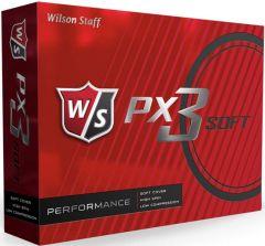 Wilson PX3 Soft Printed golf balls | Best4SportsBalls