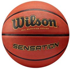 Logo Printed Wilson Sensation Basketball | Best4Balls