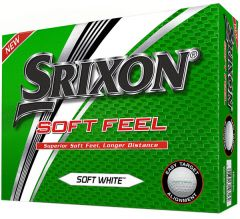 Srixon Soft Feel White | Best4Balls