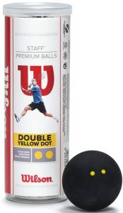 Printed Wilson Staff Squash Balls | Best4SportsBalls