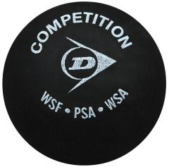 Printed Dunlop Competition squash balls | Best4SportsBalls