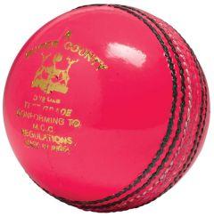 GM Super County Pink cricket balls | Best4SportsBalls