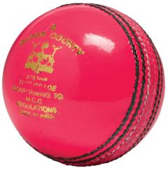 Super County Pink cricket balls Printed | Best4SportsBalls