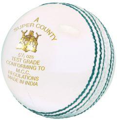 GM Super County white cricket balls | Best4SportsBalls