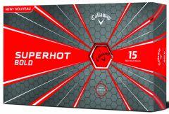 Printed Callaway Superhot Bold Red golf balls | Best4SportsBalls