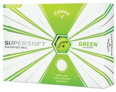 Callaway Supersoft green printed golf balls | Best4Balls