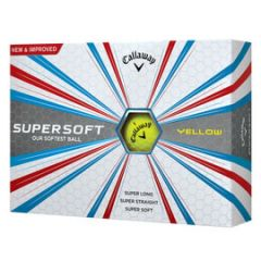 Yellow Supersoft Golf Ball from Callaway  | Best4Balls