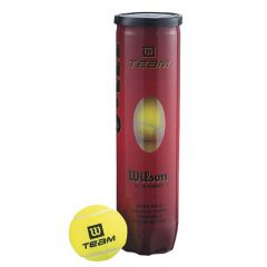 Tube of Wilson Team W tennis balls | Best4SportsBalls