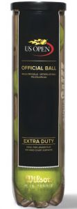 Tube of Wilson US Open tennis balls | Best4SportsBalls