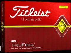 New Titleist DT TruFeel Yellow golf balls |Best4Balls