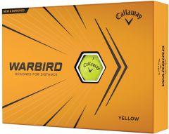 Printed Callaway Warbird Yellow golf balls | Best4SportsBalls