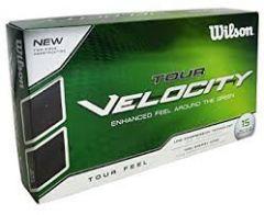 Wilson Tour Velocity printed golf balls | Best4SportsBalls