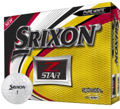 Srixon Z-Star Pure White Golf Balls | Best4Balls