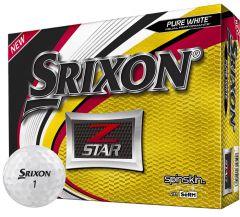 Printed Srixon Z Star Pure White | Best4SportsBalls