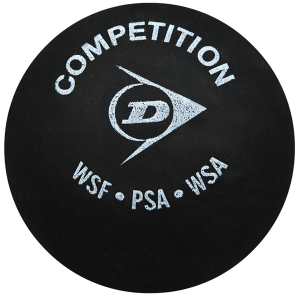 Dunlop Competition Printed Squash Balls