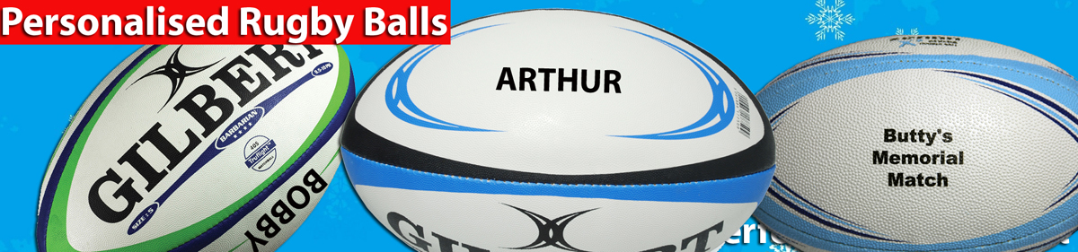 Personalized Rugby balls